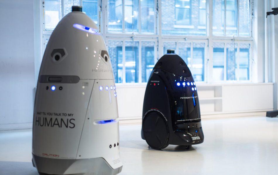 Les robots bientôt au service de la sécurité privée
