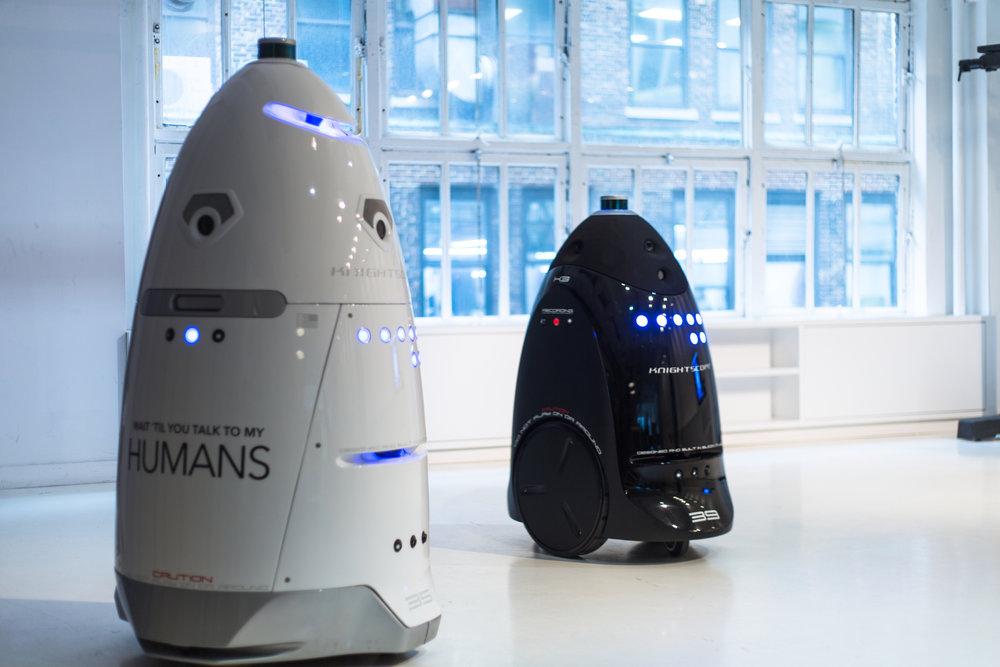 Les robots au service de la sécurité privée — RNMPS