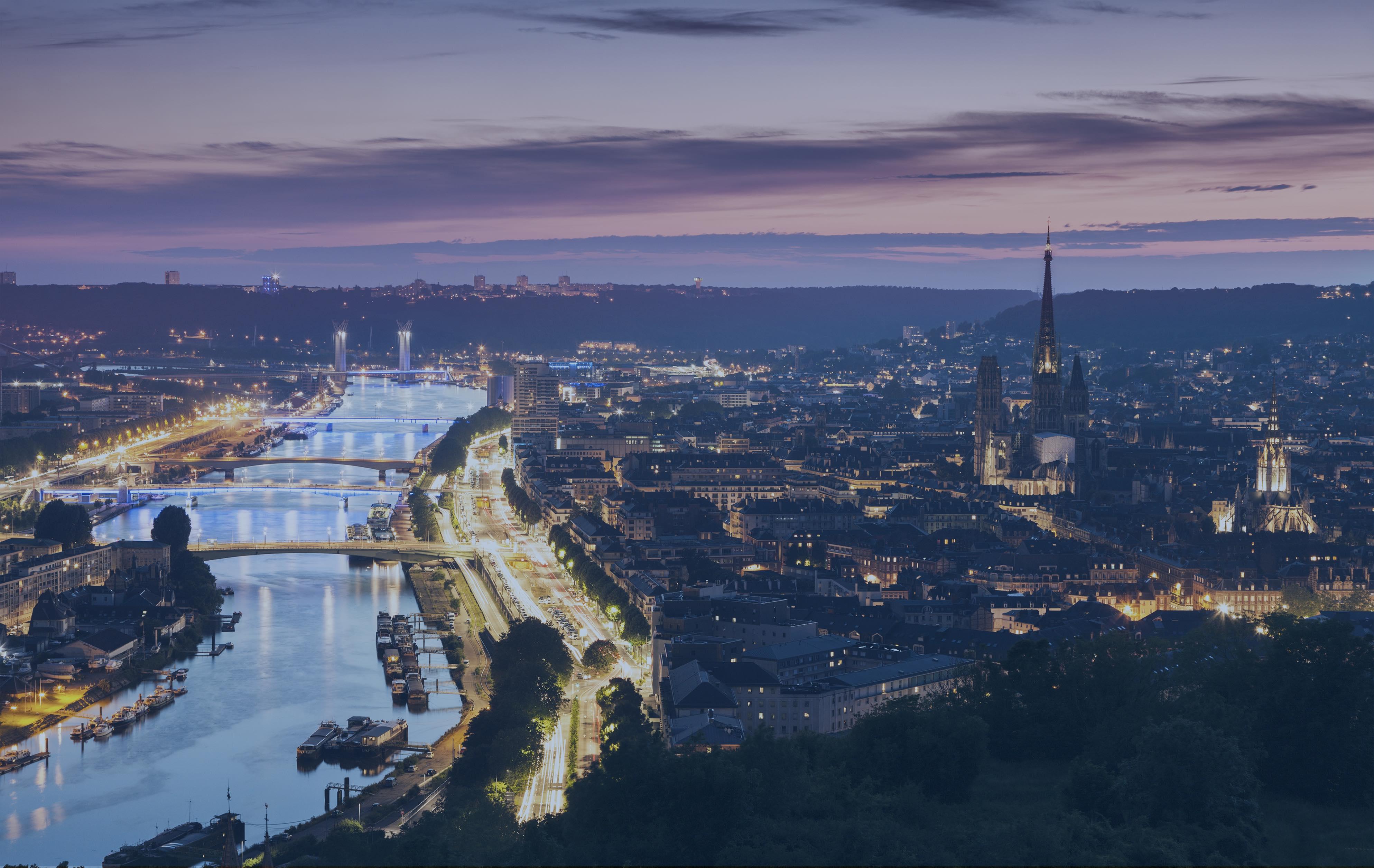 Vue de Paris et de la Seine