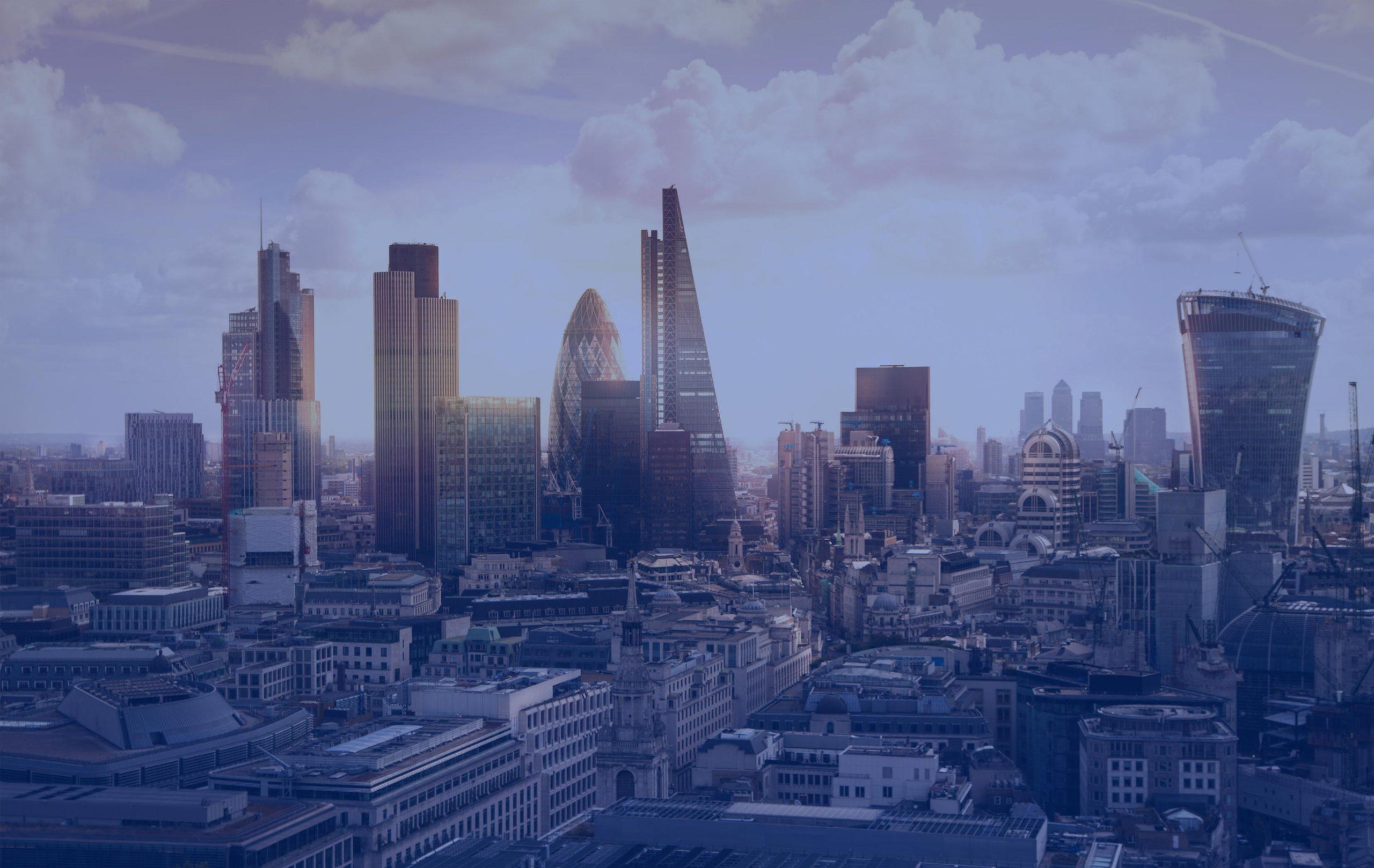 paysage de ville futuriste