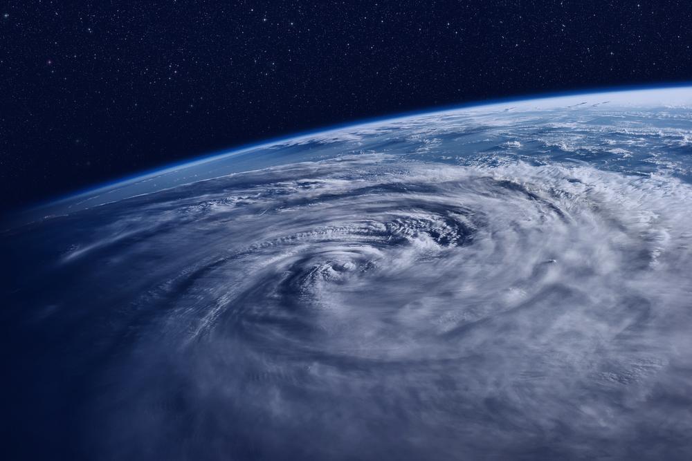 ouragan photographié par satellite
