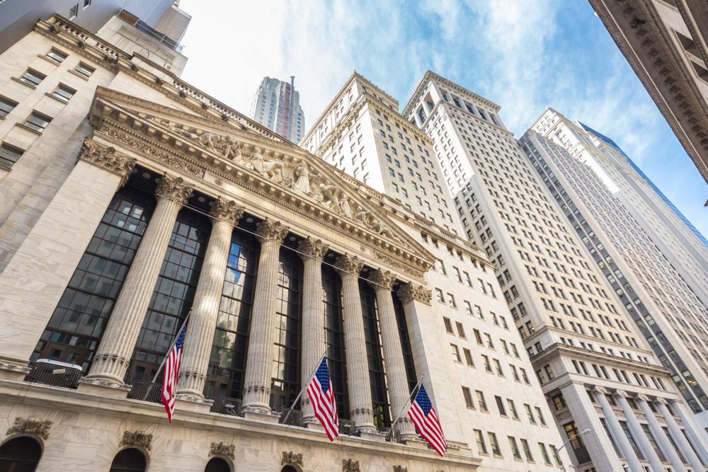 La bourse de New York aux Etats Unis