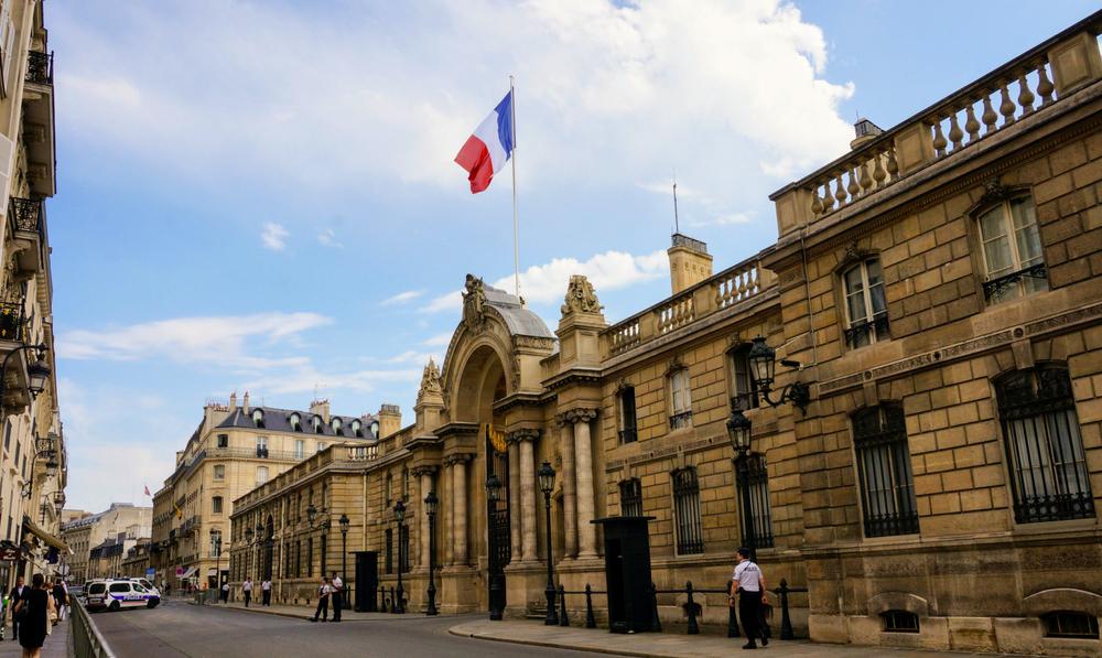 Le Palais de l'Elysée en France
