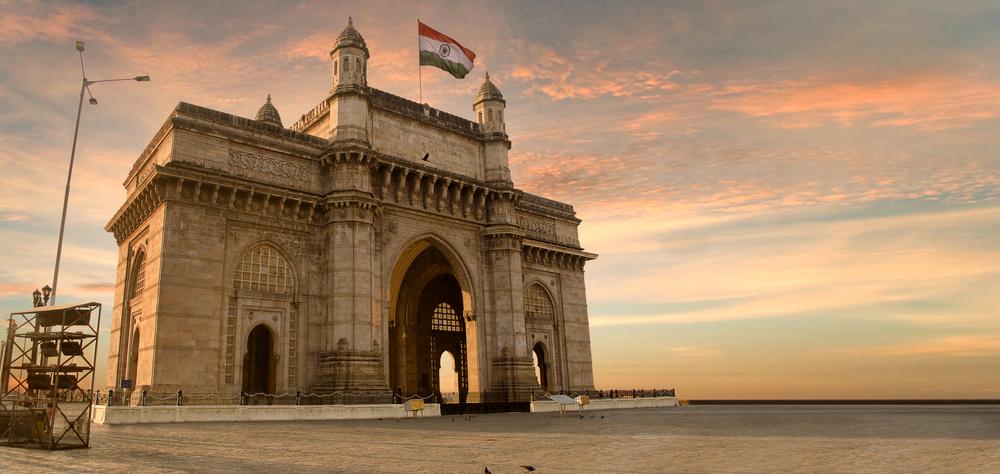 Porte de l'Inde à Mumbai