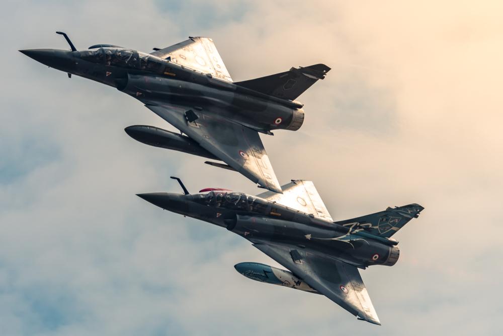 Avion Mirage de l'armée de l'air française