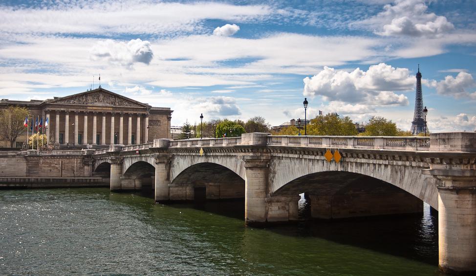 Le Palais Bourbon, assemblée nationale à Paris